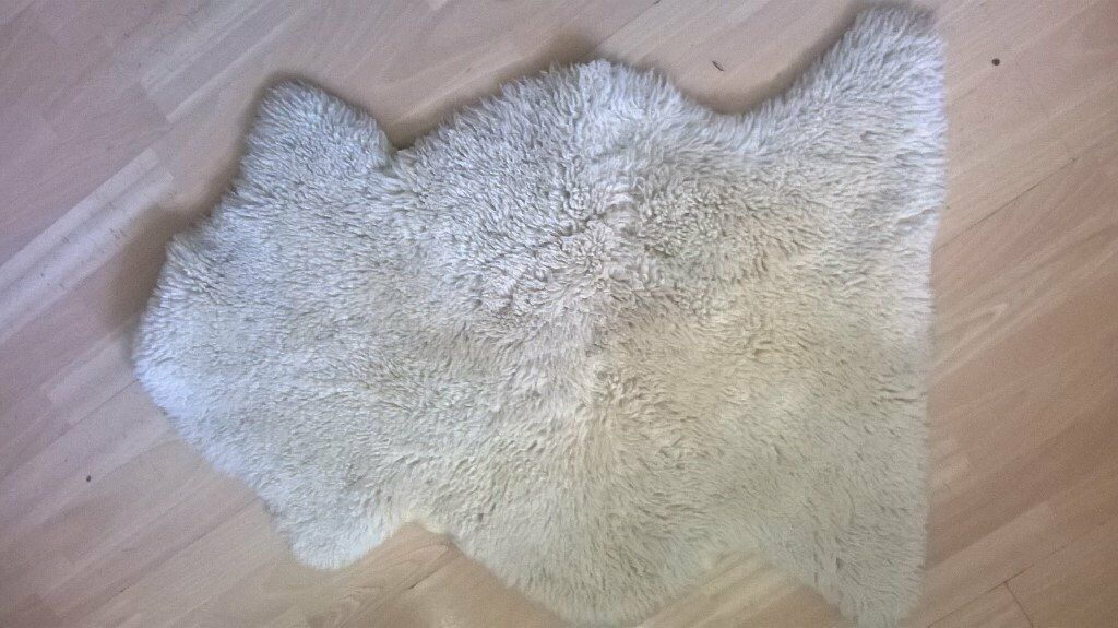 John Lewis Sheepskin Rug 90cm By 65cm For The Nursery In Chiswick London Gumtree