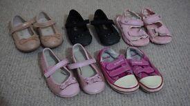 Girls Shoes Size UK 7 (NEXT, CLARKS)