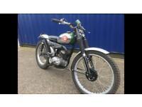 BSA bantam 175cc Classic trials