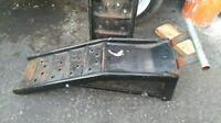 Car ramps for oil changes etc.