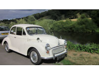 Morris 1000 1965 White with Red Interior