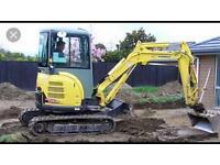Bsb Groundworks demolition digger hire grab hire bristol
