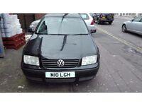 Volkswagon Bora 1.6 Petrol Black *PRIVATE NUMBER PLATE* Low Mileage