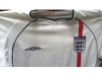 England football jerseys