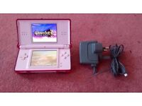 Nintendo DS Lite Pink Console Portable Handheld