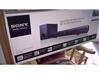 Brand new, unopened . SONY HT CT 60 BT sound bar.