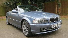 BMW 330 Ci Convertible Manual Only 90849 Miles Drives Superb