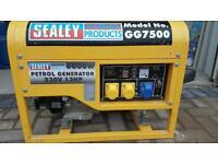 Sealey Generator Model GG7500