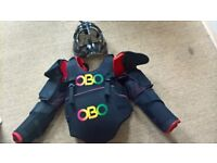 OBO Complete Set of Women's Field Hockey Goal Keepers Equipment.