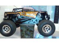 Savage xl petrol 2stroke 15cc monster truck