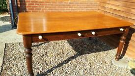 Large Oak Table
