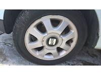SEAT AROSA /VW LUPO ALLOYS SETS