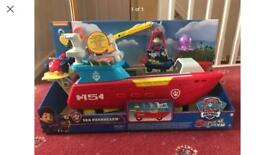Paw Patrol - Sea Patroller Vehicle - Brand new boxed