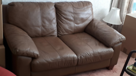Mocha Brown 2 seater Sofa DFS excellent Condition