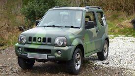 Suzuki Jimny Automatic 1.3 JLX VVTS. Petrol 2005. 84,000miles MOT 'til August 2017.