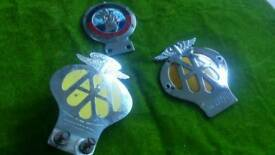 4 Old car badges AA rhodesia or near offer.