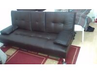Sofa Bed in black