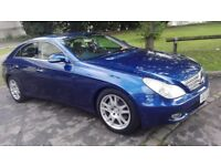 MERCEDES CLS 350 AUTO SALOON, 1 OWNER, SERVICE HISTORY, SUNROOF, SAT NAV, HEATED LEATHER SEATS