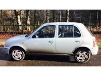 NISSAN MICRA S 1.0L 5 door (2002) year mot low 32k miles