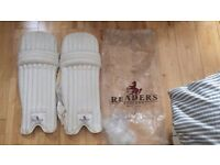 Cricket Pads Brand New Readers England