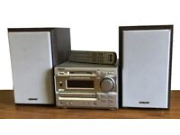 SONY MINI HI-FI COMPONENT SYSTEM DHC-MD373 - WOW !!