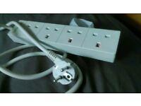 Travel plug board
