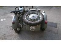 K750 with sidecar 1960 starts and drives, kossack, Dnepr, Ural