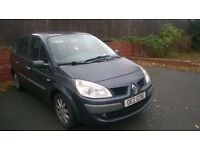 Renault Grand Scenic 1.6 VVT, 1 year MOT, 7 seater