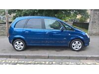 Vauxhall Meriva Design 1.6 2007 (07) **Full Service History**1 Years MOT**Privacy Glass**£1795!!**