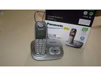Panasonic Telephone/answer phone in perfect working order only six months old