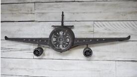 Fighter plane clock