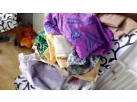 Bundle of Fabric for Dressmaking and Crafts