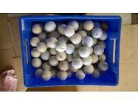 164 Used Golf Balls.