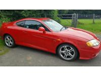 2005 Red Hyundai Coupe 2.0 Private Plate Included