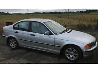 CHEAP BMW 2.0L 5 door (2001) drift car, mot fail