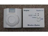 Drayton Digistat SCR Wireless RF Thermostat & Receiver Transmitter Unit