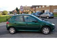 Cheap Peugeot 206 1.4 Petrol £475