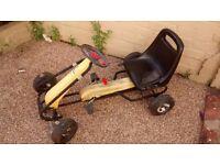kettler pedal go kart/ride on