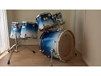 MORE PHOTOS ADDED - Drum kit: Mapex Pro M, 6 piece shell pack