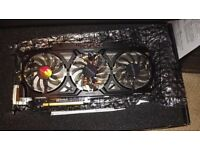 GIGABYTE WINDFORCE 3X GTX 780 3GB 6008MHZ GDDR5 954/1006MHZ GPU 384BIT OC