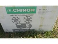 CHINON C-300 Dual Format 8mm Zoom Cine Projector