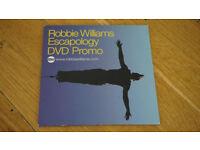 Robbie Williams USA 2003 Promo Dvd Single Escapology