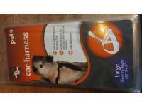 Dog car safety harness