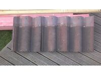 REDLAND REGENT INTERLOCKING LOW PITCH ROOF TILES ONLY 3 YEARS OLD X140