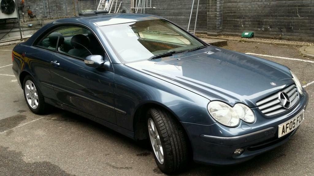 mercedes benz c270 cdi coupe clk 2005 in hackney london gumtree. Black Bedroom Furniture Sets. Home Design Ideas