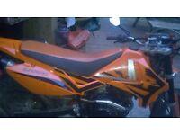 Pluse 125xx motorbike
