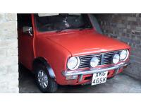 Classic 1972 Mini convertible