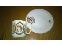Coronation Mug/Plate