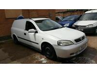 2001 Vauxhall Astra Van 1.7 DTI - 28 Days Warrenty