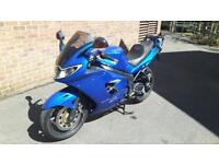 Triumph sprint ST1050 in blue 2005 low milage